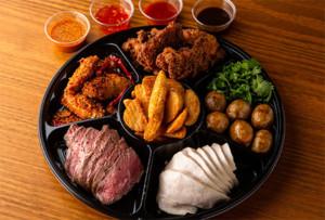 【おうちdeモンスーンセット】肉の盛り合わせ