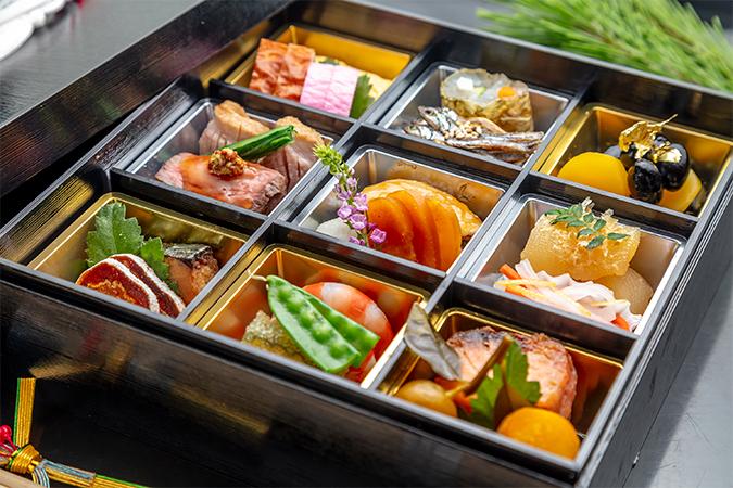 京料理割烹「祇をん きらら」のおせち料理