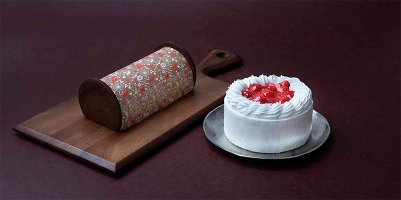 低糖質クリスマスケーキ2種