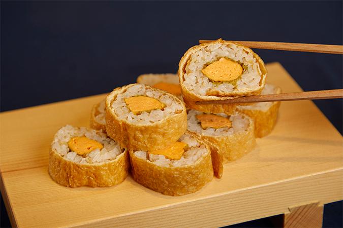 まいてあげる謹製 だし巻きいなり寿司
