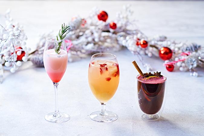 カフェ&ダイニング ゼルコヴァ クリスマスカクテル