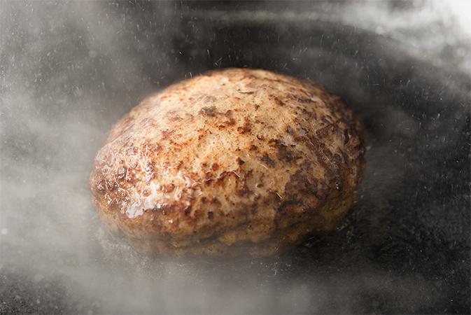 豚肉100%ハンバーグ