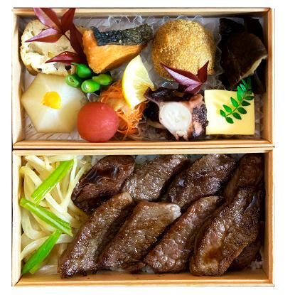 佐賀牛焼き肉二段重弁当