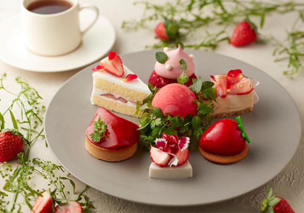 Strawberry Fields Cake Set