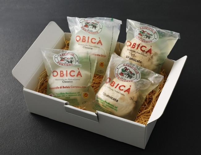 OBICAオリジナルパッケージ入りカンパーニャ産水牛モッツァレラ