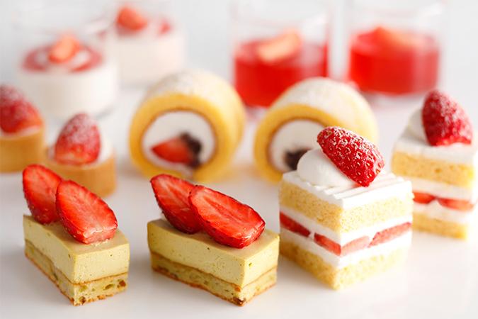日仏を代表するいちごスイーツの究極の食べ比べ ホテルニューオータニ