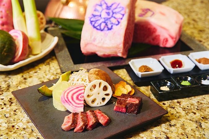 神戸牛と松坂牛のロースの食べ比べ限定メニュー ホテルインターコンチネンタル東京ベイ