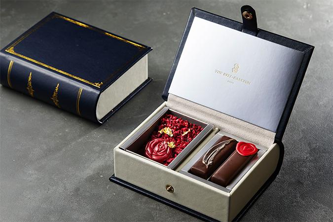 ザ・リッツ・カールトン大阪 2021年バレンタインコレクション ブックボックスチョコレート