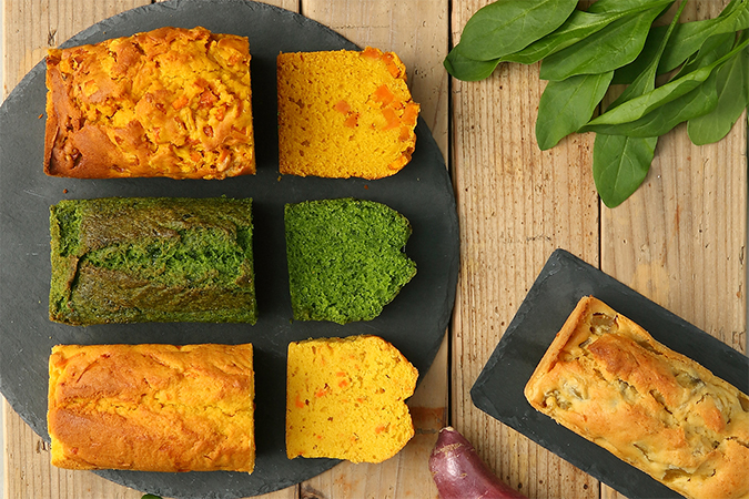 クッチョロカフェ 野菜のパウンドケーキ