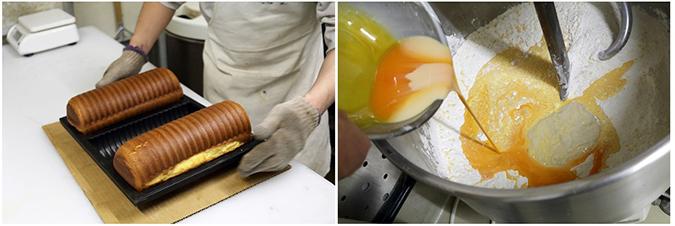 小麦粉を熱湯でこねる「湯種法」