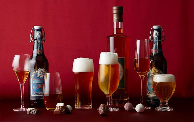 ローエンシュタイン ドイツビール&マール・ド・シャンパーニュトリュフ