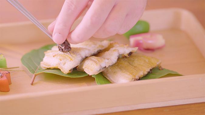カカオ醤(ジャン)を使った料理