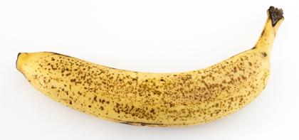 シュガースポットが出たバナナ