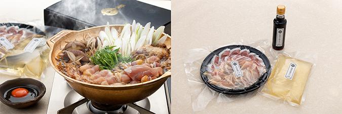 淡海地鶏の鶏すき焼きセット