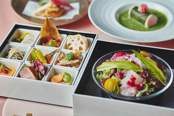 SAKURA Lunch 二段ボックス【琵琶湖マリオットホテル】