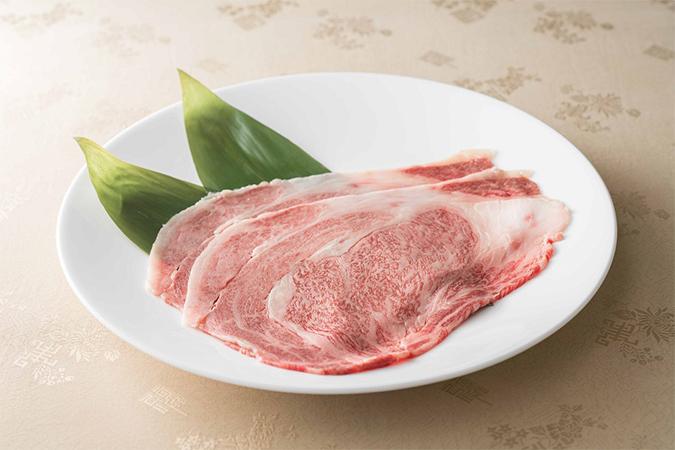 国産黒毛和牛リブロース「金昇坦々麺の厳選食材」