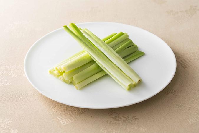 碧玉筍(ヘキギョクチク)「金昇坦々麺の厳選食材」