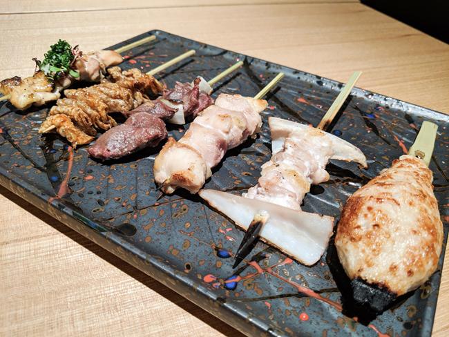 博多松介 恵比寿店の串焼き