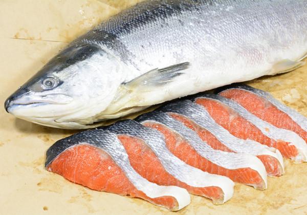 新巻鮭の画像