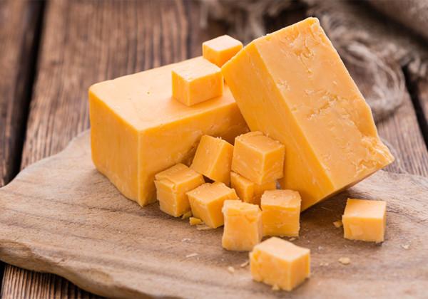 チェダーチーズの画像