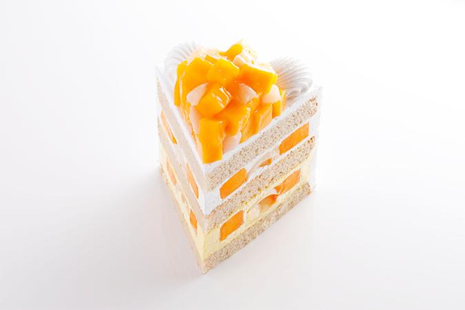 新エクストラスーパーマンゴーショートケーキ