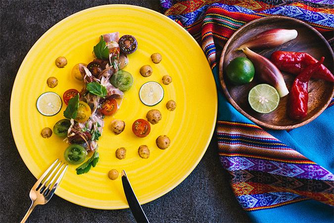 コンテンポラリーペルー料理