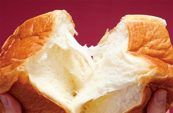 耳まで柔らかでフカフカな高級食パン