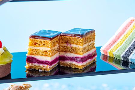 フィグ&カシスのケーキ