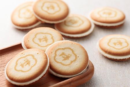 ウメダチーズラボのクッキーの画像