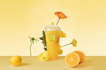 奈雪オレンジジャスミンの画像