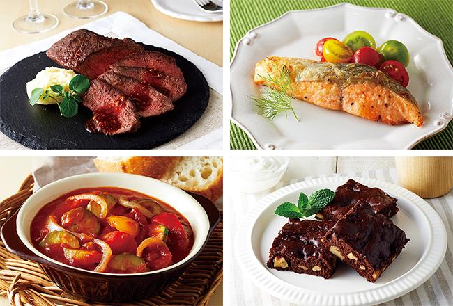 オリジナルレシピで作った料理の画像
