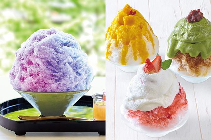 『こまち茶屋』&『Dear Bread鎌倉』の2大かき氷の画像