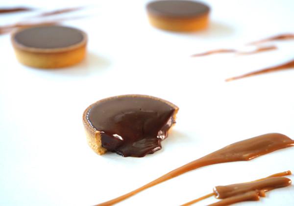 生チョコキャラメルタルトの画像