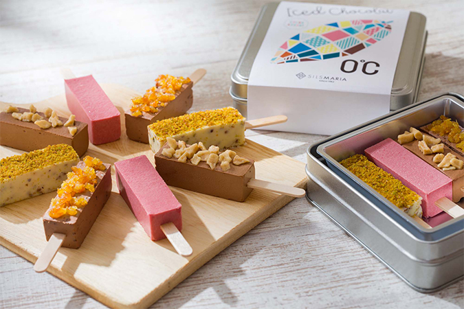 アイス ド ショコラ「0℃」 カラーアソートの画像