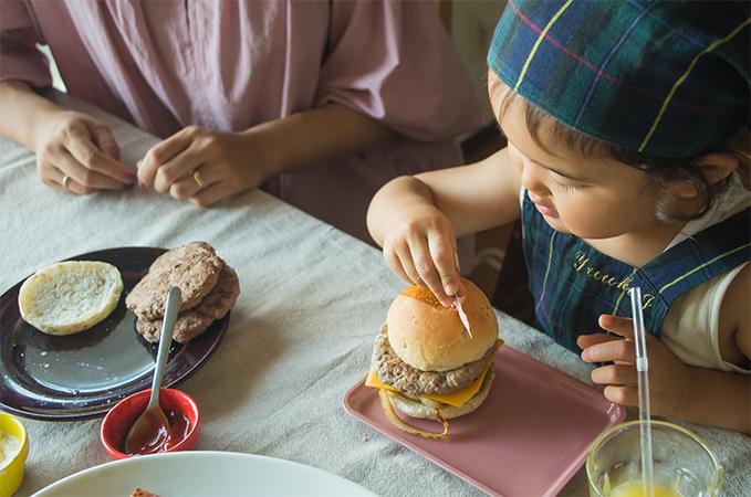おうちで手作りハンバーガー屋さんキットの画像1