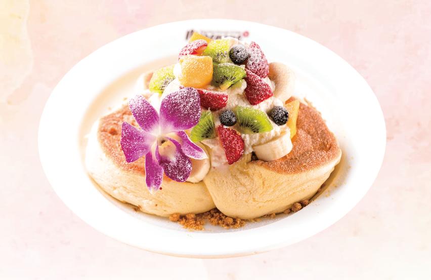 メレンゲのハワイアンパンケーキ