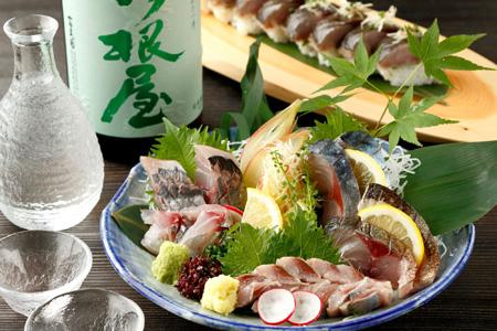 産直鮮魚五種盛り