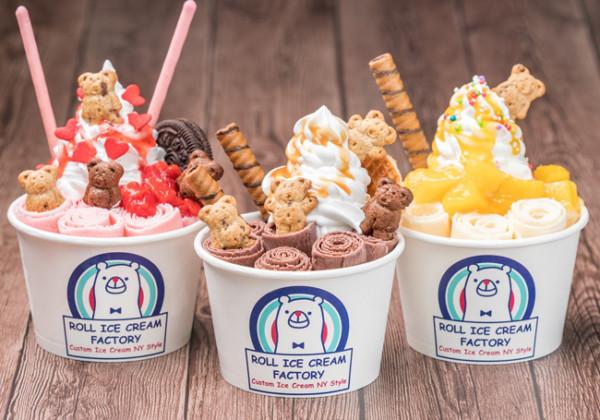 「ロールアイスクリームファクトリー」が九州に初上陸!