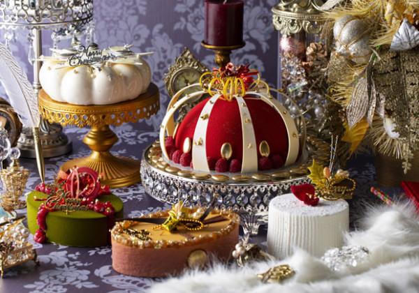 ヒルトン東京2019年クリスマスケーキ「女王陛下のロイヤル・クリスマス」