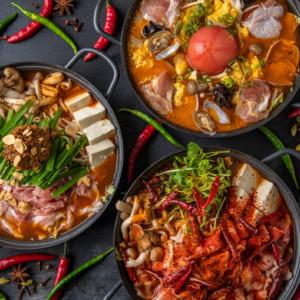 オニ鍋3種