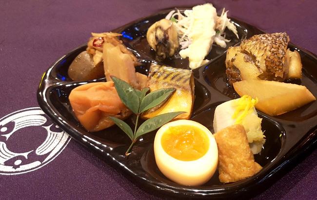 銀座魚勝の料理