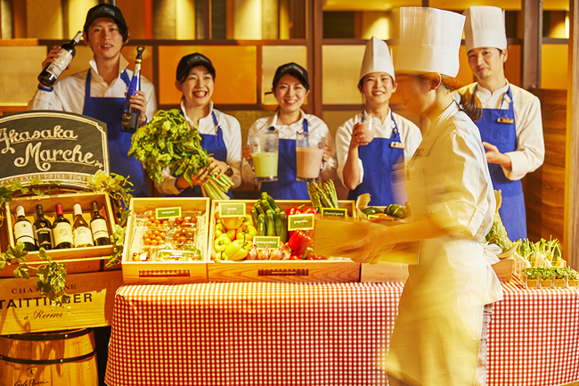 赤坂エクセルホテル東急 赤坂マルシェ