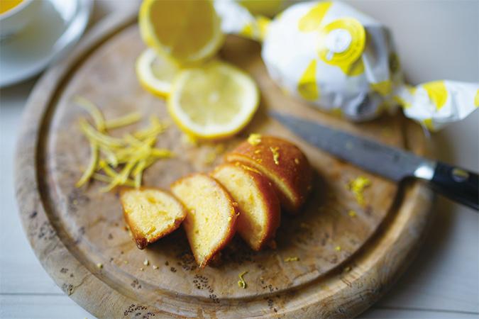 「レモネード・レモニカ」レモンケーキ