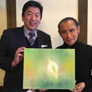 永井酒造の永井則吉、片岡鶴太郎