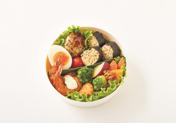 <いとはん>玄米ごはんのひとくち和菜弁当