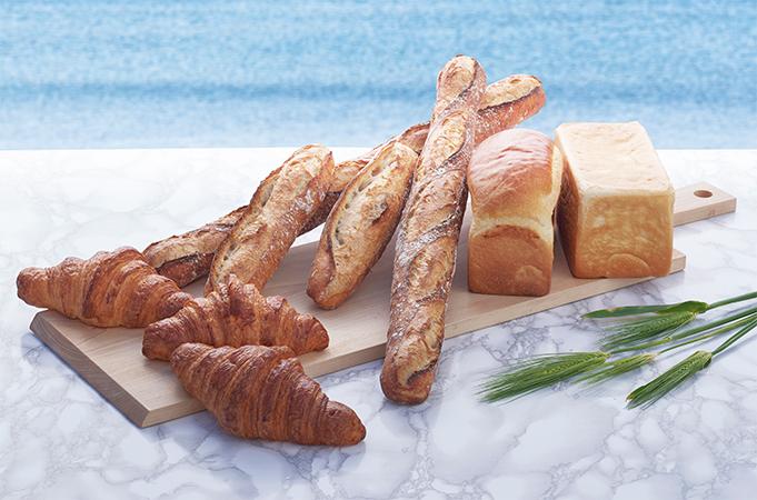 ブラッスリー・ゲントのパン