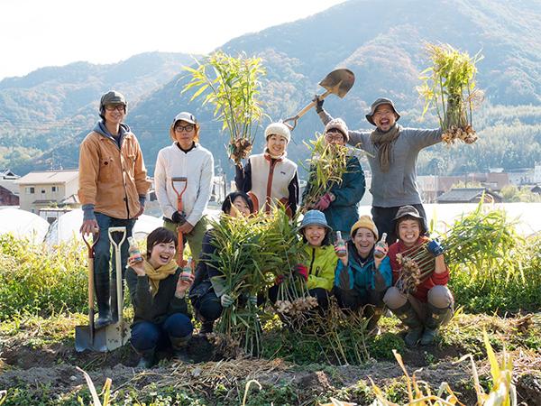 小豆島肥土山の農家「HOMAMAKERS」さん