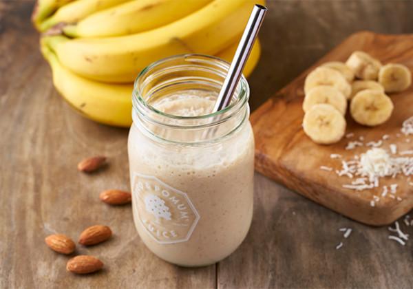 オリジナルトッピングブレンドのバナナジュース