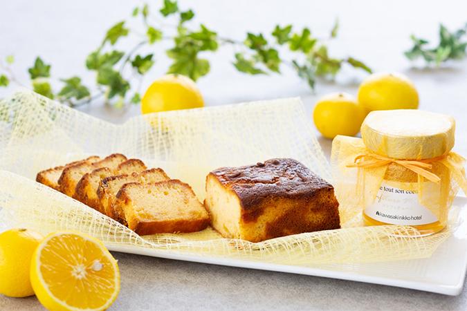 湘南ゴールドを使用したパウンドケーキとマーマレード