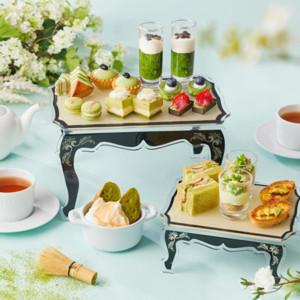 5種類のブランド抹茶を食べ比べできるアフタヌーンティー